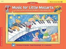 Music for Little Mozarts: Lesson Book 1 Barden, Christine H., Kowalchyk, Gayle,
