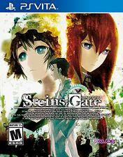 Steins;Gate [PlayStation Vita PSV, Mystery Suspense Visual Novel] NEW