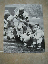 Otto Graham Cleveland Browns NFL Football B&W Candid Coffee Table Book Photo