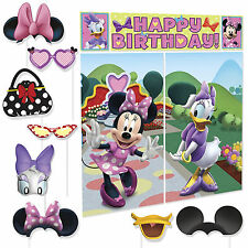 Disney Minnie Mouse and Friends Premium Photo Booth Birthday Party Fun Props Kit