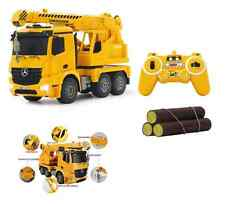 Mercedes Benz Arocs RC Truck Crane 1/20 lorry Remote Radio Control Construction