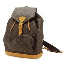 Auth LOUIS VUITTON Monogram Montsouris GM Backpack Bag M51135 Purse 90009931