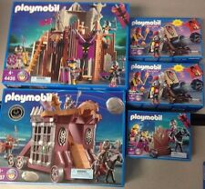 Lot of Playmobil knights sets (4435, 3320,4437, 4837)