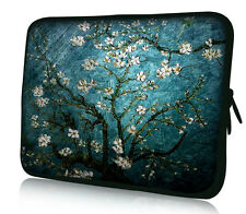"""Flower Sleeve Case Bag Pouch For 16/17/17.3/17.4"""" Notebook Laptop Computer PC"""