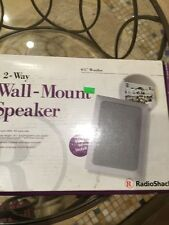 Radio Shack  2 - Way Wall Mount Speaker 50 Watts 100 Watts Max