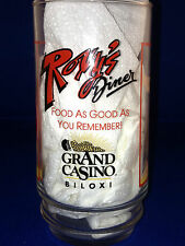 ROXIE'S DINER GRAND CASINO BILOXI MS COKE COCA COLA 16 Z ADVERTISING GLASS BEACH
