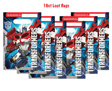 16ct Transformers Optimus Prime Loot,Treat or Favor Bags Birthday Party Supplies