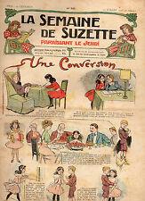 LA SEMAINE DE SUZETTE N° 25, Juillet 1908,  BECASSINE A LA FETE DE CHARITE