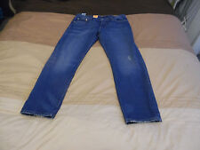 LEVIS mens vintage 501CT customise and tapered FIT BOTTON-FLY 31w/32L