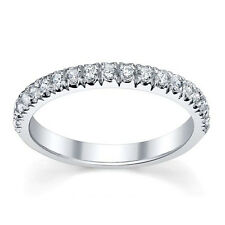 Buyfinediamonds.com £500 Top Quality 1/4Ct Round Diamond Half Eternity Ring Gold