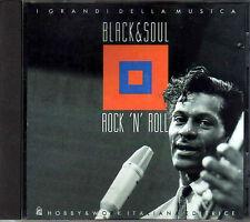 CD - BLACK & SOUL - ROCK' N' ROLL - I GRANDI DELLA MUSICA - 1995