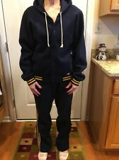 Champion Vintage Fleece Women's Sweatsuit Track Suit Tracksuit Medium
