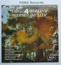 WERNER MULLER - The Phase 4 World Of ... - Excellent Con LP Record Decca SPA 136