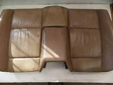 BMW E36 Convertible Rear Seat Back Tan Leather OEM 94-99 318 323 325 328