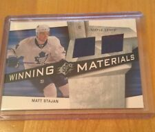 08-09 2008-09 SPX MATT STAJAN WINNING MATERIALS JERSEY WM-ST TORONTO MAPLE LEAFS