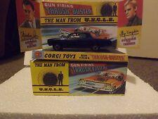 Corgi 497 oldsmobile homme d'oncle, superbe restauré et emballé version bleue