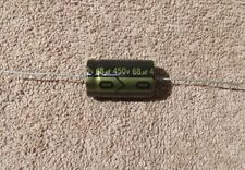 68uf / 68mfd - 450V - Axial Electrolytic Capacitor - 1 piece