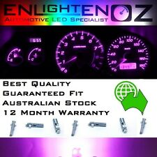 Pink LED Dash Gauge Light Kit - Suit Subaru Impreza WRX RS 2001-2007