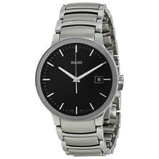 Rado Centrix Black Dial Stainless Steel Mens Watch R30927153