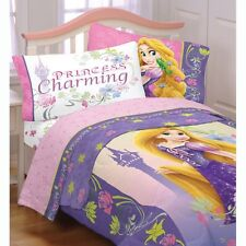 3pc Disney Tangled Twin Bed Sheet Set Princess Charming Bedding Accessories