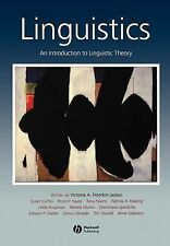 Linguistics: An Introduction to Linguistic Theory (2000, Paperback)