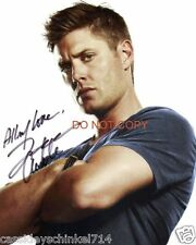 "Jensen Ackles from TV Show Supernatural 8x10"" reprint signed photo #4 RP"