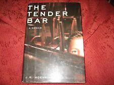 THE TENDER BAR by J.R. Moehringer (hardback) 1st Edition