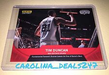 2016-2017 Panini Instant NBA TIM DUNCAN 1 Of 112 RED Farewell Retirement SPURS