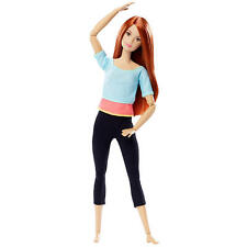 Barbie Made to Move Doll - Red Hair