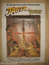 JÄGER DES VERLORENEN SCHATZES  -PLAKAT-  HARRISON FORD Raiders of the Lost Ark