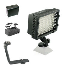 Pro XB-12 LED on camera video light F970 for JVC AVCHD HD HDV 3D camcorder DV