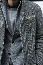 CUSTOM MADE Tweed Sport Coat Blazer Jacket,BESPOKE Tailored Mens Tweed Jacket