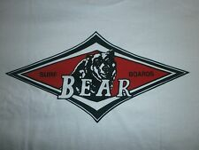 BEAR SURFBOARDS BIG WEDNESDAY SURF SURFING SURFBOARD BEACH LONGBOARD FIN S/S XXL