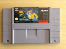 Virtual Bart SNES. Tested. Cart only. PERFECT LABELS. GET IT NOW!!!