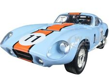 1965 SHELBY COBRA DAYTONA COUPE #11 BLUE 1:18 DIECAST MODEL ROAD SIGNATURE 92408