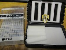 NEW Tiemco TMC Fly Pit Trout Fly Box