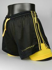 Nike Livestrong Double Up Size Small New Womens Black Running Shorts 487393 013