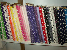 Wholesale Lot Bundle Polka Dot Prints Cotton 10 Yards