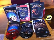 Sacred Plus MITO III ZAx la ALIEN HUNTER PC Bundle lotto OdL GIOCHI