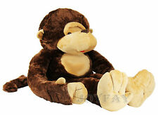 "Joyfay® 51"" Giant Huge Fat Monkey Gorilla Stuffed Plush Animal Toy 130 cm"