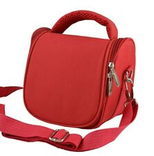 AR2 Red Camera Case Bag for CANON SH50 SH40 SX500 IS SX 30 SX40 HS SX50 HS