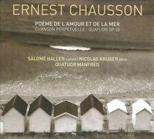 Poeme de l?amour et de la mer / Chanson perpetuelle / le Quatuor a cordes, New M