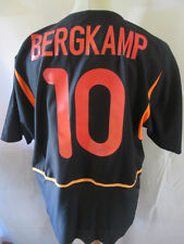 Holland 2002-2004 Bergkamp #10 Away Football Shirt Size Large /34436