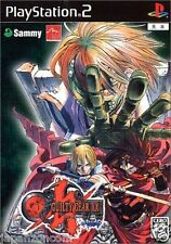 Used PS2 Guilty Gear XX Reload  SONY PLAYSTATION JAPAN IMPORT