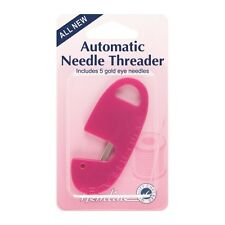 Hemline Automatic Needle Threader And Needles Sewing