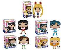 Funko POP! Sailor Moon: Sailor Scout Pack- Stylized Vinyl Figure Anime Set NEW