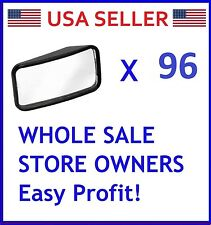 LOT OF 96 x Wedge Blind Spot Side Mirror Wide Rectangle RV VAN TRUCK MOTORCYCLE