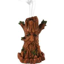 "LISA PARKER SPIRIT OF EQUINOX INCENSE CONE BURNER ""GREEN MAN"" WICCAN/PAGAN"