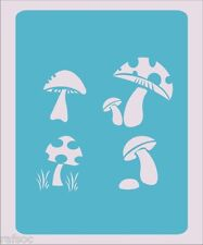 Mushroom Stencil Crafts Paint Color Wall Decoration  Kids Template #19