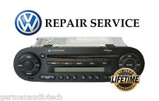 VOLKSWAGEN NEW BEETLE CD PLAYER RADIO MONSOON MP3 1998 - 2011 + REPAIR SERVICE